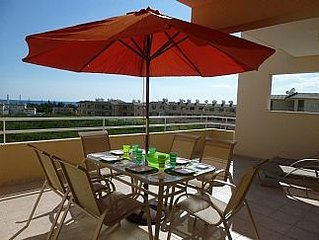 1st Floor Apartment With A Large South and West Facing Balcony with Shared Pool,