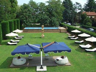 Appartamento a Mestre con giardino e piscina estiva