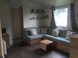 Beautiful Mobile Home, air con, 3 beds, 2 baths, terrace a, baby/toddler freindy
