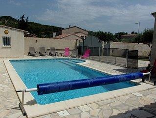villa familiale  piscine privee - PROMO SEPTEMBRE