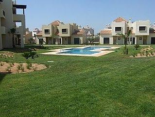 South Facing Ground Floor Apartment - Roda Golf Resort - Wifi & Free Air Con