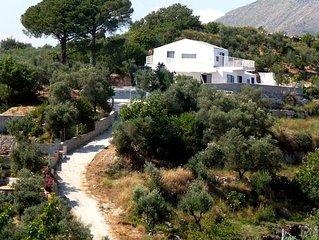Luxury Award-winning Villa Set in Olive Groves