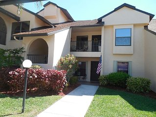Club At Crystal Lake Condo-Tropical Oasis In South Fort Meyers