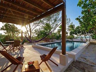 Romantic modern beach retreat for couples, groups