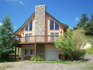 Creekside is a relaxing, pet-friendly vacation home located in downtown Pagosa S