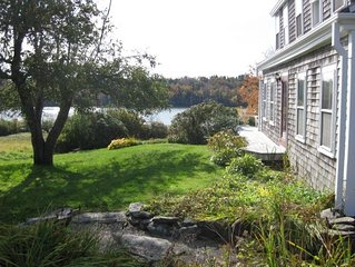 Charming Antique Cape, Water View, Historic Castine, Penobscot Bay.