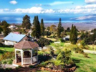 Private Ocean View  Hawaiiana Plantation Cottage