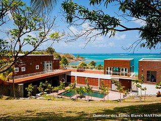 Villa Isabelle/Domaine des Fonds Blancs: THE 5* Luxury Villa Rental *Martinique