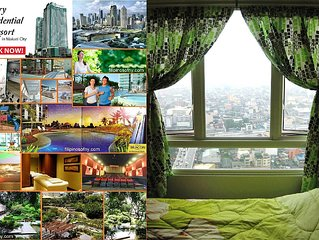 Luxury Resort Condominium Ocean View Makati Central District + Wifi