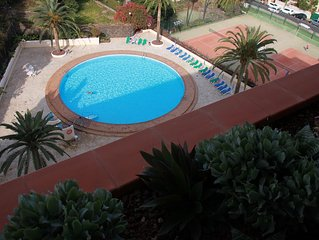 Apartment mit traumhaftem Panoramablick zum Teide und Meer, Balkon zur Westseite