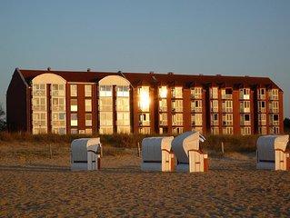 Top 3 Raum Ferienwohnung mit super Seesicht und in bester Strandlage.