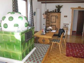 Spacious, sunny apartment in Hinterthal. Liftnah