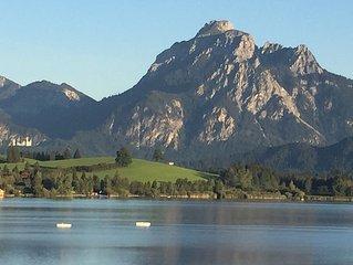 4-Sterne Ferienwohnung in Hopfen am See, Riviera des Allgäus, Kneipp-/Luftkurort