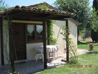 Separate cottage, 35 sqm, idyllic location, pets