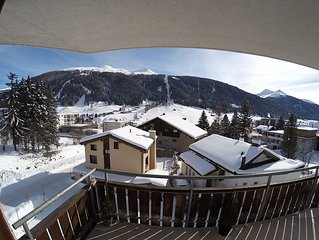 4.5 room apartment with panoramic views in Davos Platz