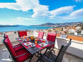Dachgeschoss Maisonette-Wohnung mit Meerblick-Terrasse