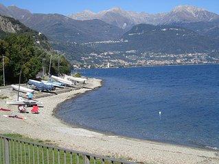 Wunderschön in Seenähe gelegene große und schöne Ferienwohnung - mit Boot/Surf.