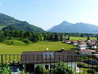 Oberaudorf views over the Inn Valley: stylish, spacious terraces apartment no. 7