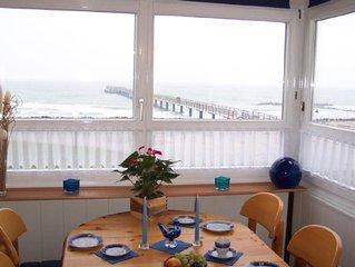 Komfort-Strandferienwohnung mit traumhaftem Meerblick in der 1. Reihe