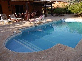 Villa pour 6 presonnes avec piscine