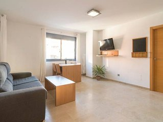 1D apartment 5 meters from the beach