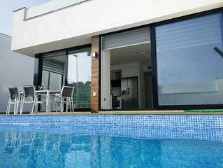 Modern Villa with private pool close to beaches of Mar Menor