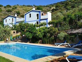 The PAJAR, Rute, Cordoba, Andalusia, hot tub, pool, fireplace, climatizacio