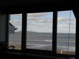 Stunning Penthouse Overlooking The Beach In Llanfairfechan