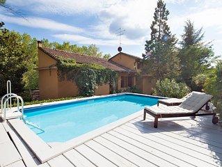 Villa La bruscola con piscina