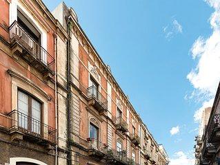CATANIA 900, appartamento in centro con terrazza