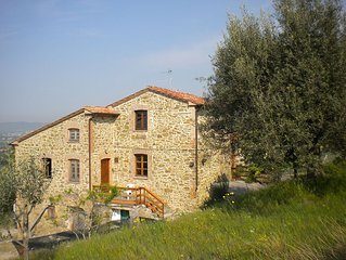 Holiday Home with wonderful view on Trasimeno Lake