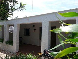 75 m2 for 4 max 5 people in Zahora-Costa de la Luz Andalusia.