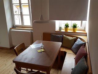 """The apartment """"THREE"""" in the former inn """"To hell"""" in Marktbreit"""