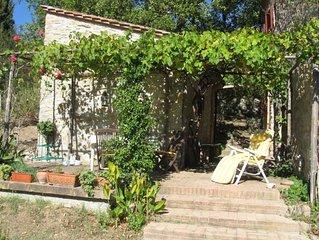 Ferienwohnung im alten Bauernhaus auf dem Land in den Hugeln