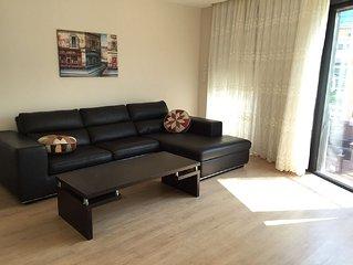 Ferienapartment in neuer Residenz mit Gartenanlage und Pool in Antalya/Konyaalti