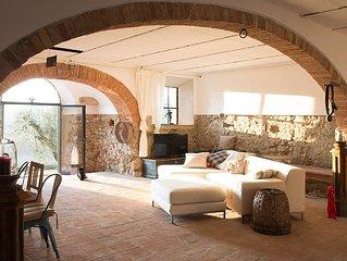 Toskana-Romantik. Ländlicher Charme  zwischen Montalcino und Meer. Relax pur
