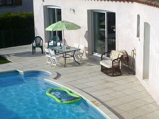 Stunning Villa With Private Pool In Historic French Village Near Sandy Beaches