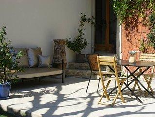 Agréable maison avec jardin, proche Aix et Luberon