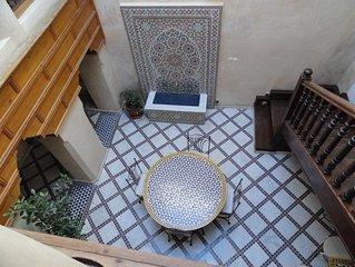 Riad authentique  - En exclusivité - Marrakech Medina