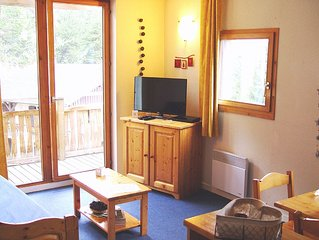 Appartement 5 pers. tout confort dans station ski conviviale et familiale