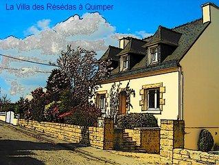 Maison typiquement Bretonne au coeur de la Cornouaille