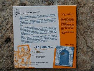 appartement dans château de village templier Var Provence