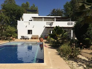 Villa Senegal Ngaparou50 m de la mer
