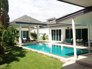 Spacieuse et moderne villa au calme