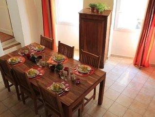 A 6 min de St Remy de Provence appartement spacieux 4 pers. avec garage privatif