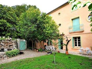 Le Gite piscenois ***, maison de caractere avec jardin