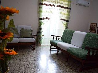 Luminoso appartamento arredato e climatizzato. Connessione WiFi gratuita.