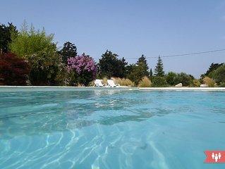 Gite neuf avec spa, piscine, 4 pers