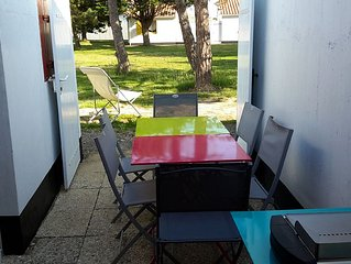 Maisonette any ideal comfort for 4 people near the sea in residence with swimmi
