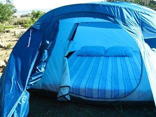 Camping a la ferme a Nijar en Andalousie